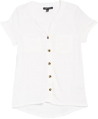 Cable & Gauge Patch Pocket Short Sleeve Camp Shirt