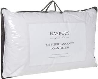 Harrods 90% European Goose Down Pillow (Firm)