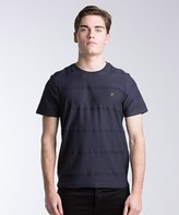 Farah Duchy Textured Stripe T-Shirt