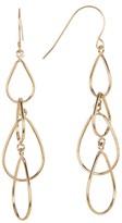 Candela 14K Gold Multi Teardrop Dangle Earrings