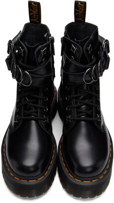 Dr. Martens Black Jadon Hardware Platform Boots