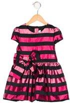 Sonia Rykiel Girls' Bow-Accented Striped Dress