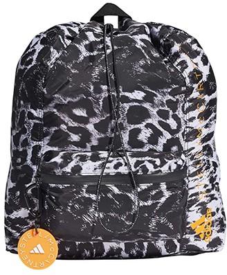 adidas by Stella McCartney Gym Sack Backpack FT2952 (Black/White/Animal Print) Backpack Bags