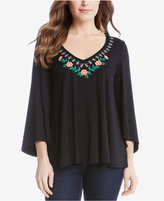 Karen Kane Embroidered Swing Top, a Macy's Exclusive Style
