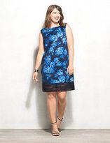dressbarn Luxe by Carmen Marc Valvo Floral Sheath Dress Plus