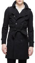 Burberry The Wiltshire Long Heritage Trench Coat, Black