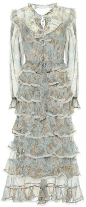 Zimmermann Ladybeetle paisley silk midi dress