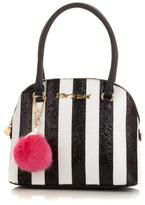 Betsey Johnson Candy Cane Dome Satchel