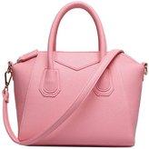 Tibes Top Handle Genuine Leather Shoulder Handbags L