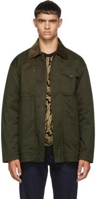 DSQUARED2 Green Kaban Jacket