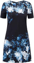 Goat Dixie Blue Watercolour Print Dress