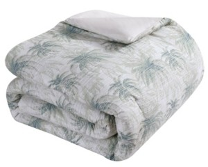 Tommy Bahama Distressed Palm Full-Queen Comforter Set
