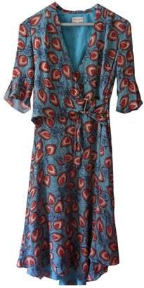 Karen Millen Blue Silk Dresses
