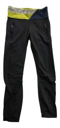 Lululemon Black Polyester Trousers