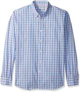 Dockers No Wrinkle Long Sleeve Button-Front Shirt, Aurora