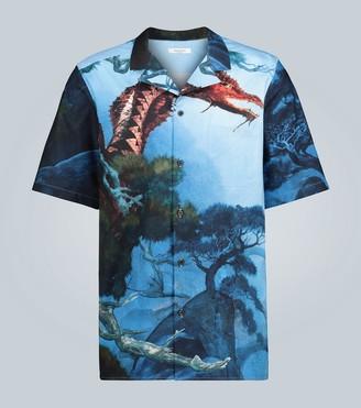Valentino Dragon Garden cotton shirt