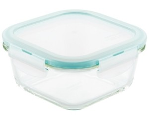 Lock n Lock Purely Better Glass 16-Oz. Square Food Storage Container