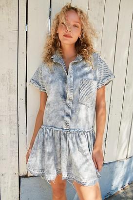 Free People Love Buzz Railroad Denim Dress