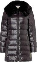 Michael Kors Medium length faux fur detail puffer jacket