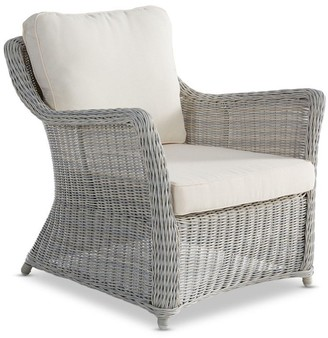 Wisteria Designs Ithaca Outdoor Lounge Chair Weathered Grey