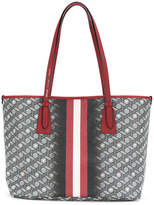 Bally stripe and 3D print tote bag