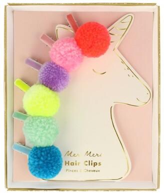 Meri Meri Pom-Pom Hair Slides (Pack of 6)