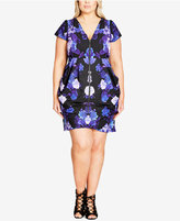 City Chic Trendy Plus Size Tunic Dress