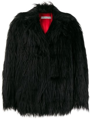 Philosophy di Lorenzo Serafini Oversized Faux-Fur Jacket