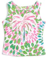 Kate Mack Girl's Palm Tree Tank