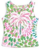 Kate Mack Toddler Girl's Palm Tree Tank