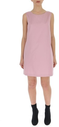 Theory Sleeveless A-Line Mini Dress