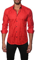 Jared Lang Long Sleeve Button-Down Semi-Fitted Shirt