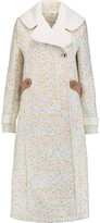 Peter Pilotto Labyrinth bouclé coat