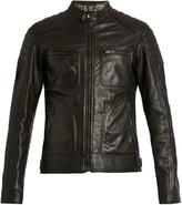 Belstaff Weybridge waxed-leather biker jacket