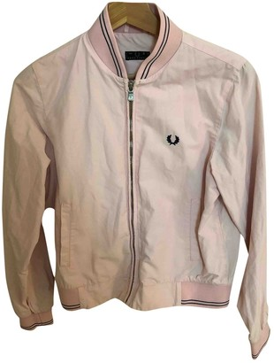 Fred Perry Pink Jacket for Women