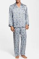 Majestic International Men's 'Cypress' Silk Pajamas