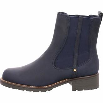 Clarks Women's Slip-On Boots Orinoco Club Black Leather 6 UK