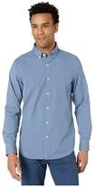 Vineyard Vines Slim Fit Lemon Shark Performance Tucker Button-Down Shirt (Barracuda Tejeda) Men's Clothing