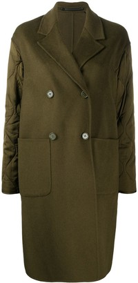 AllSaints Florence double-breasted coat