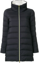 Herno zipped padded coat - women - Cotton/Polyamide/Polyurethane/Acetate - 40