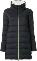 Herno zipped padded coat - women - Cotton/Polyamide/Polyurethane/Acetate - 42