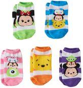 Disney Disney's Tsum Tsum Girls 5-pk. No-Show Socks