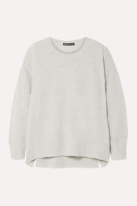 James Perse Cashmere Sweater - Light gray