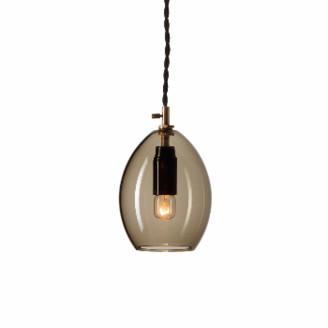 Northern - Small Unika Pendant Light - Smokey Grey - Grey/Glass