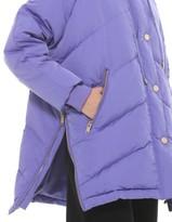 Silvian Heach Oversize Down Jacket Violet - S