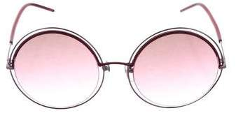 Marc Jacobs Round Oversize Sunglasses