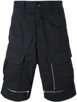 Stone Island Shadow Project - zipped deck shorts - men - Cotton/Spandex/Elastane - 48