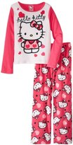 Hello Kitty Girls 4-10 Pajama Set