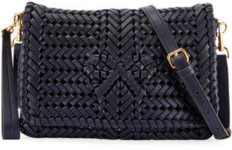 Anya Hindmarch The Neeson Woven Leather Crossbody Bag