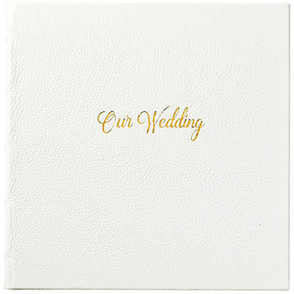 One Kings Lane Our Wedding Journal - White/Gold